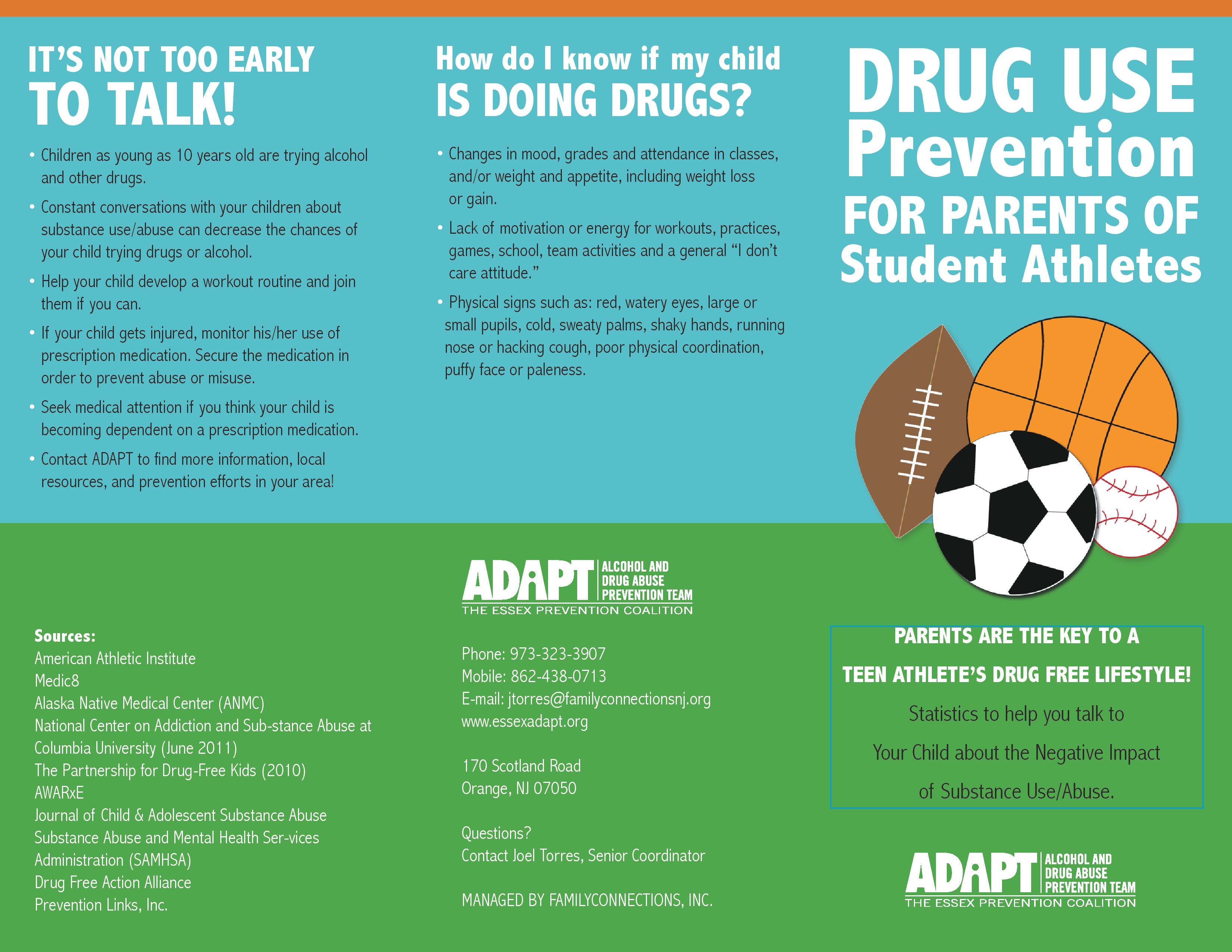 Tips for Parents of Student Athletes | ADAPT